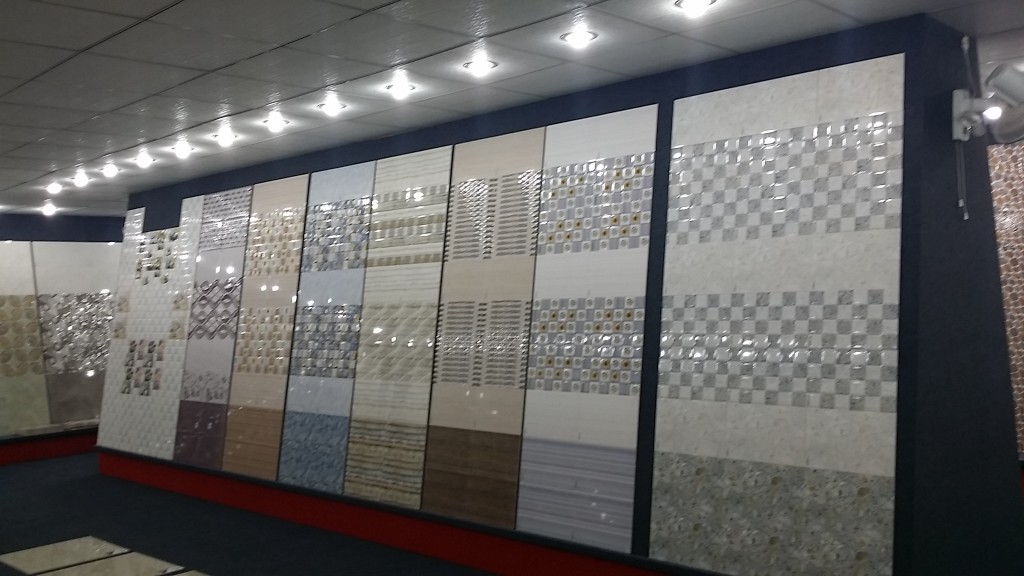 Visit our showroom to have a glimpse of new arrivals in for Latest bathroom tiles design